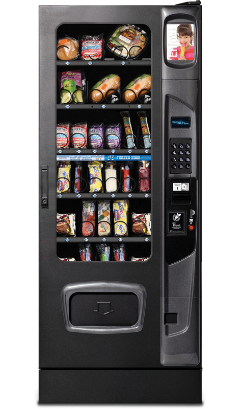 Food and Beverage Combination Vending Machine