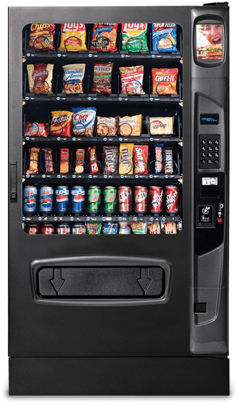 Snack and Drink Vending Machine - Alpine VT5000