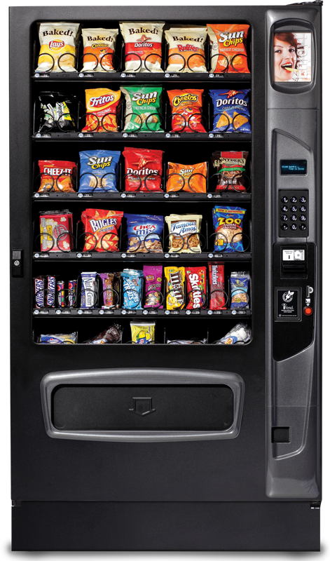 Snack and Candy Vending Machine