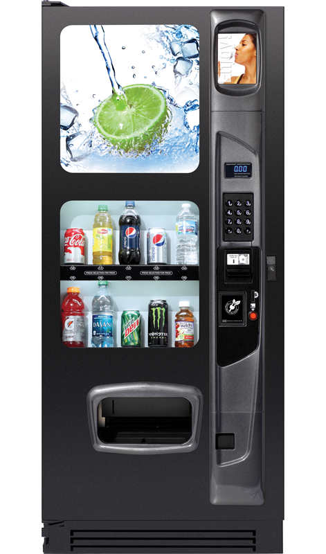 Soda and Bottled Water Vending Machine